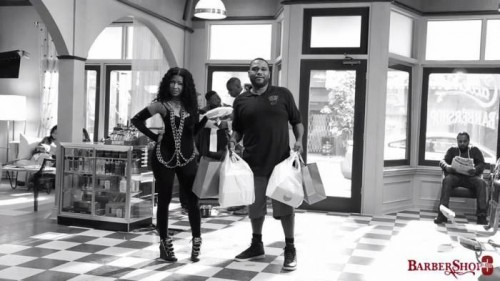 nicki-minaj-barbershop-3-500x281 Barbershop 3 Trailer Starring Nicki Minaj, Common, Tyga And More! (Video)