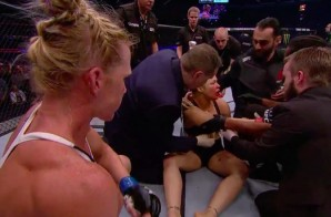 Rousey Rolled: Holly Holm Knocks Out Ronda Rousey With Chun Li Style Kick; Biggest Upset In UFC History (Video)