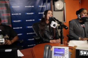 Tinashe Stops By Sway In The Morning To Talk About Her Album, Touring With Nicki Minaj, Drake VS Meek Mill And Kicks A Freestyle! (Video)
