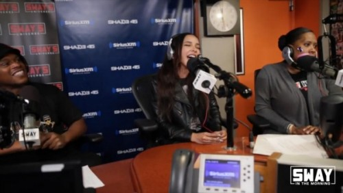 tin-500x282 Tinashe Stops By Sway In The Morning To Talk About Her Album, Touring With Nicki Minaj, Drake VS Meek Mill And Kicks A Freestyle! (Video)