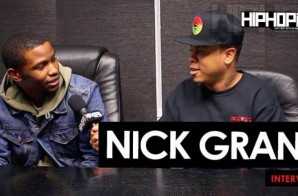 "Nick Grant Talks His New Single ""The Jungle"", His Road to Atlanta, Spiting on Sway In The Morning, Being A Student of the Game & More (Video)"