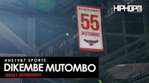 unnamed-61-500x279 HHS1987 Sports: The Atlanta Hawks Retire Dikembe Mutombo's #55 Jersey (Video) (Shot by Terrell Thomas)