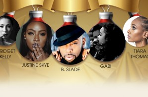 Singer, Brandy, Hosts MBK Ent Holiday Concert Ft. Justine Skye, Tiara Thomas, Bridge Kelly, & More In NYC