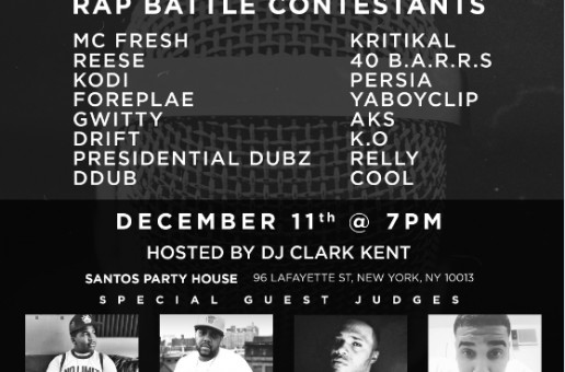 Timberland & Jimmy Jazz To Host Rap Battle In NYC!