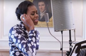 "Simply Amazing: Michelle Obama Drops A Pretty Dope ""Go To College"" Rap Record (Video)"
