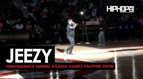 "Jeezy-2-500x279 Jeezy Performs ""Put On"", ""Soul Survivor"" & More During Halftime At The Thunder vs. Hawks Game (Video)"