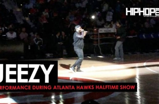 "Jeezy Performs ""Put On"", ""Soul Survivor"" & More During Halftime At The Thunder vs. Hawks Game (Video)"