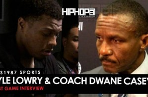 HHS1987 Sports: Dwane Casey & Kyle Lowry Post Game (Toronto Raptors vs. Atlanta Hawks 12/2/15)