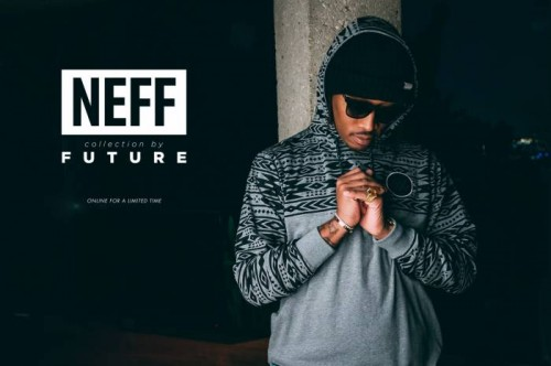 futureneff1-11-500x332 Future Partners With Streetwear Brand NEFF For 'Freebandz' Collection (Video)