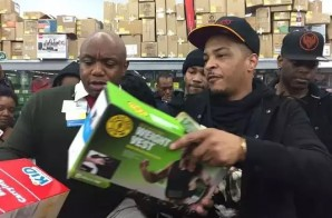 T.I. Hooks Lucky Families Up At Wal-Mart W/ Last Minute Holiday Gifts! (Video)