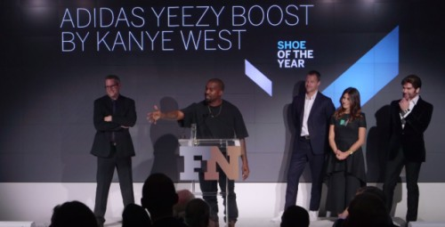 kw-1-500x255 Kanye West Receives 'Shoe Of The Year' Honor In New York City! (Video)