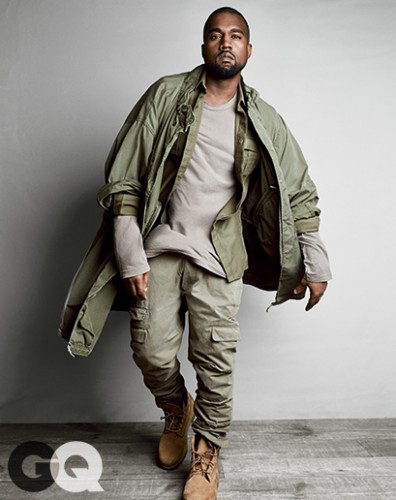kw-396x500 Kanye West Named GQ's 'Most Stylish Man' Of 2015!