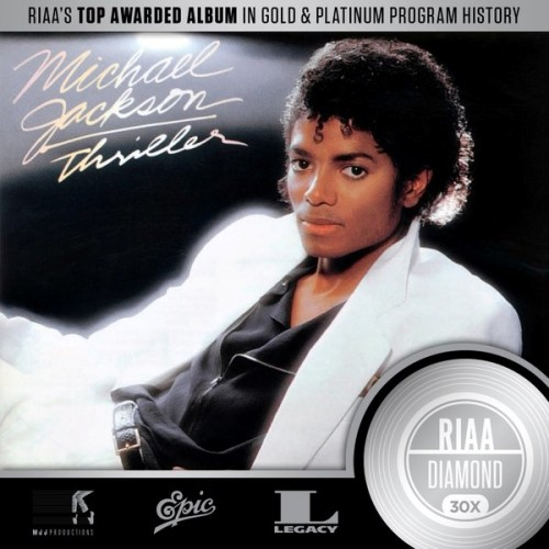 mj-30x-500x500 Michael Jackson's 'Thriller' Makes History Again By Becoming First Album To Go Platinum 30x!
