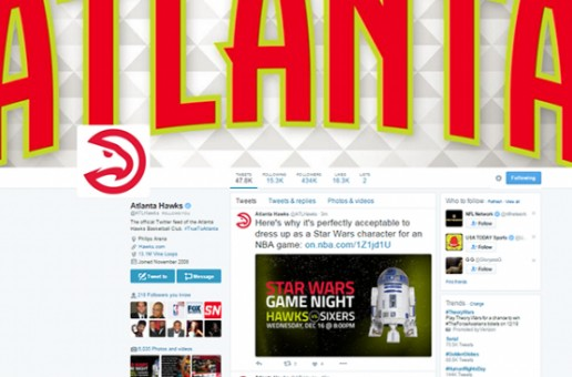 True To Social Media: Atlanta Hawks Twitter Account Named to Sports Illustrated's Twitter 100 List