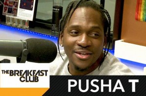 Pusha T Talks Darkest Before Dawn Album, Signing Lil Wayne, G.O.O.D. Music & More On The Breakfast Club (Video)