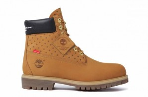 Supreme Hooks Up With COMME des GARCONS SHIRT To Make Custom Timberland 6-inch Boot!