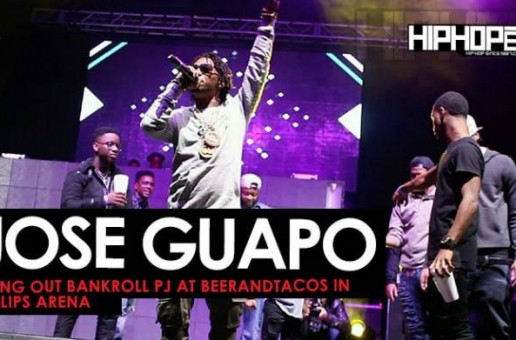 Jose Guapo Brings Out Bankroll PJ at BeerAndTacos Fest in Philips Arena (Video)