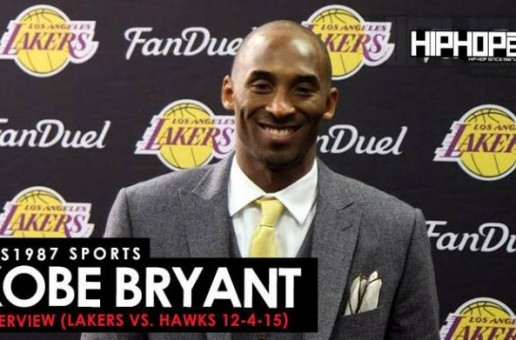 Kobe Bryant Explains What He'll Miss Most About Basketball, Which Jersey Number He Prefers The Lakers To Retire, Advice From Dr. J & More With HHS1987 (Video)