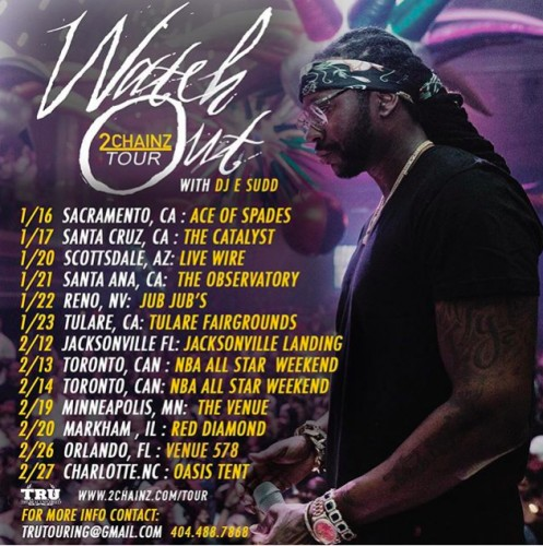 2c-1-497x500 2 Chainz Announces 'Watch Out' Tour!