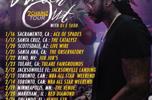 2 Chainz Announces 'Watch Out' Tour!