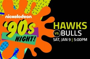 "The The Atlanta Hawks Travel Back In ""Slime"" With Their Nickelodeon '90s Night Saturday Night vs. Chicago"