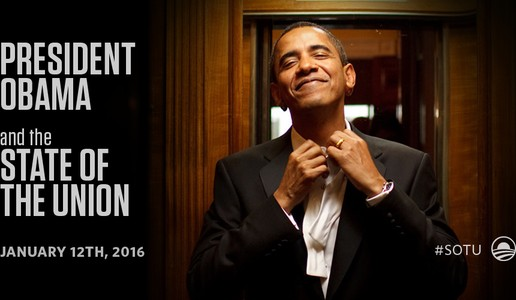 President Obama Proves He Is The GOAT With This Uptown Funkish State Of The Union Ad (Photo)