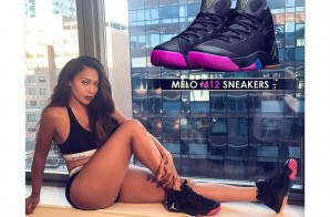 "Stand By Your Man: Lala Anthony Flaunts Her Husband Carmelo Anthony's Air Jordan ""Melo M12"" (Photos)"