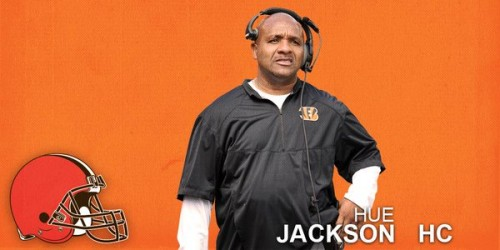 CYnmIk-W8AYW0O_-500x250 Welcome To The Land: The Cleveland Browns Have Named Hue Jackson Their New Head Coach