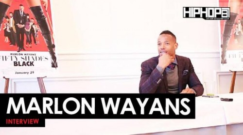 "Marlon-500x279 Marlon Wayans Talks ""Fifty Shades Of Black"", His New NBC Sitcom ""Marlon"", Creating Parodies & More With HHS1987 (Video)"