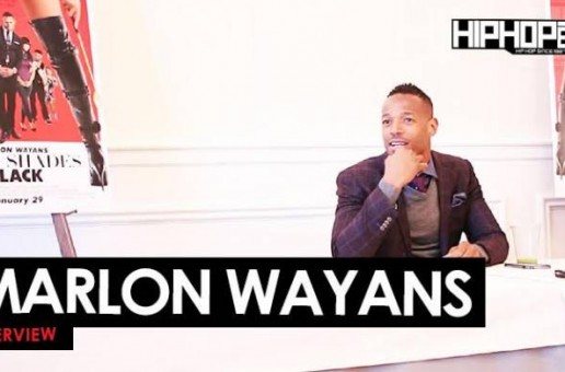 "Marlon Wayans Talks ""Fifty Shades Of Black"", His New NBC Sitcom ""Marlon"", Creating Parodies & More With HHS1987 (Video)"
