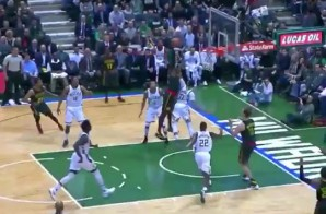 Deer In Headlights: Atlanta Hawks Star Paul Millsap Posterizes Milwaukee Bucks PF John Henson (Video)
