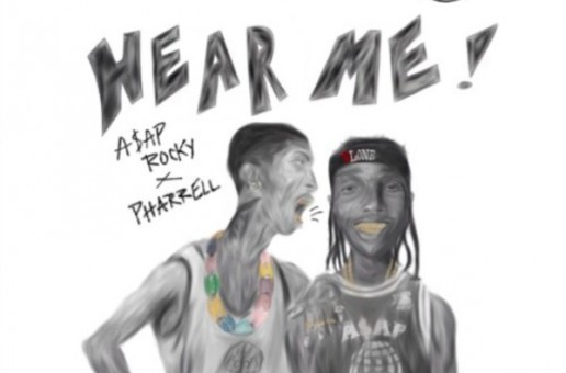 A$AP Rocky – Hear Me Ft. Pharrell (Prod. By Kino Beats x Miles Sloan)