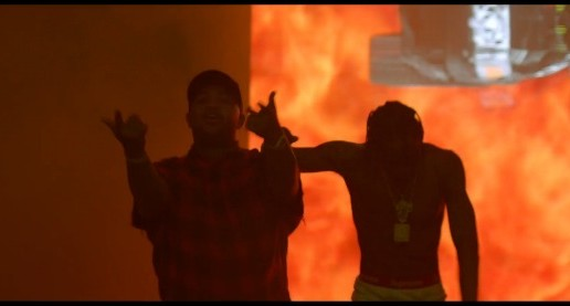 DJ Mustard – Whole Lotta Lovin' Ft. Travis $cott (Video)