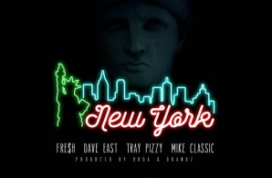 Brodie Fresh – New York Ft Dave East, Tray Pizzy, & Mike Classic