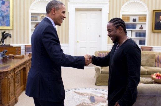 "Kendrick Lamar Meets President Barack Obama In ""Pay It Forward"" (Video)"