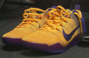 "Nike Kobe 11 ""Lakers"" (Photos)"