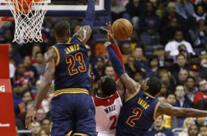 Finding Their Groove: LeBron James & Kyrie Irving Go Off Against The Washington Wizards (Video)