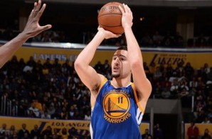 Splash: Golden State Warriors Star Klay Thompson Goes Off For 22 Points In The 1st Quarter Against The Lakers (Video)
