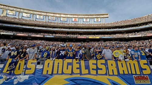 rams-500x281 California Love: The Rams Are Headed To Los Angeles, The Chargers Have The Option To Move; The Raiders Are Staying In Oakland