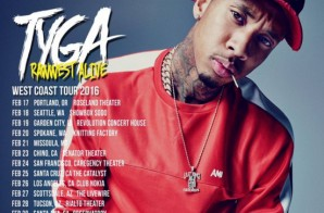 Tyga Announces 'Rawwest Alive' Tour + Dates!