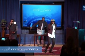 Hip-Hop History: Wale Becomes First Rapper To Open The State Of The Union + Announces New Album Title! (Video)