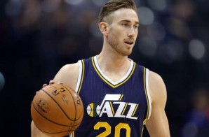 White Men Can Jump: Utah Jazz Star Gordon Hayward Posterizes Alex Len (Video)