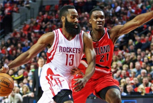CcH0w9RUEAIwpe2-500x335 Rocket Power: James Harden Drops 46 Points Against the Portland Trailblazers (Video)