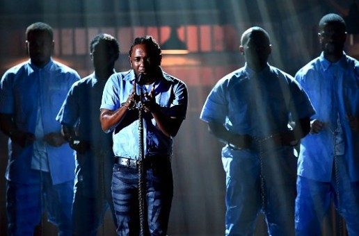 Kendrick Lamar Delivers Epic Performance At The Grammy's! (Video)
