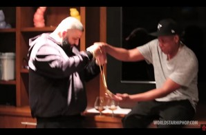 New Mgmt Alert: DJ Khaled Signs To Roc Nation; Receives Chain From Jay Z! (Video)