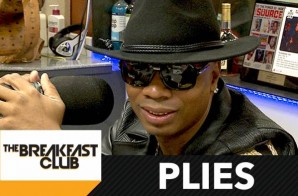 "Plies Talks ""Color Money"" Body Slam Incident, Social Media, ""Ran Off On The Plug Twice"" & More W/ The Breakfast Club (Video)"