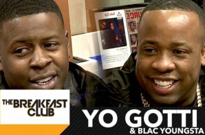 "Yo Gotti & Blac Youngsta Talk Wells Fargo, ""Down In The DM"", Angela Simmons & More W/ The Breakfast Club! (Video)"