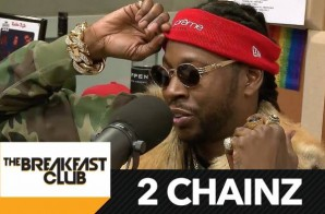 2 Chainz Visits The Breakfast Club To Talk Collegrove, Lil Wayne, Bankroll Fresh & More (Video)