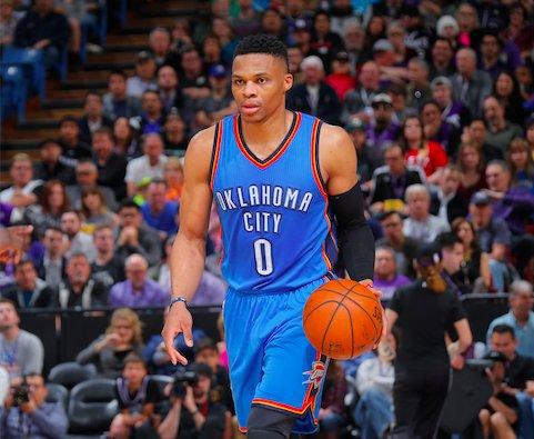 Ccb72FMUMAAylZe And Another One: Russell Westbrook Records His 9th Triple-Double of the 2015-16 NBA Season (Video)