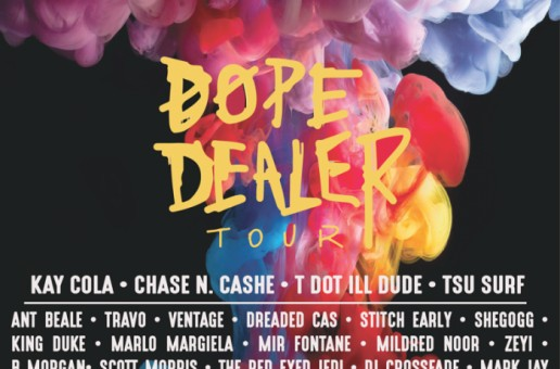 TazManiaShow's #DopeDealerTour Hits Austin, TX featuring Kay Cola, Chase N. Cashe, & More